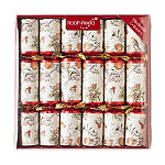 12 Christmas Robin Crackers