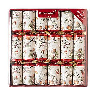 12 Christmas Robin Crackers alt image 1