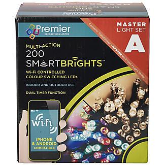 200 Wi-Fi Controlled LED Lights Master Set alt image 2