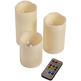 3 Remote Control Colour-Changing Candles alt image 5