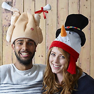 Animated Snowman Hat