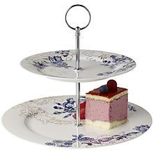 Kuchenetagere Palmer's Silk mit 2 Ebenen von V&A