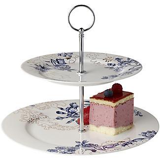 V&A Palmer's Silk 2-Tier Cake Stand alt image 1