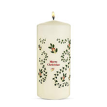 Advent Pillar Christmas Candle
