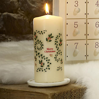 Advent Pillar Christmas Candle alt image 3