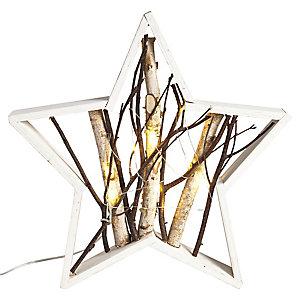 LED Wooden Star