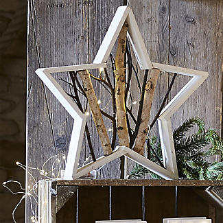 LED Wooden Star alt image 3