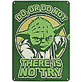 Star Wars™ Yoda Metal Wall Sign