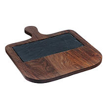 Just Slate Wooden Serving Paddle with Slate Insert