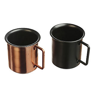Just Slate 2 Small Coffee Cups