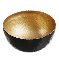 Just Slate Gold Serving Bowl
