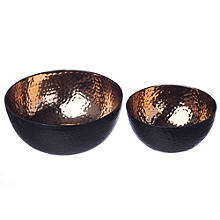 Just Slate Copper Serving Bowls