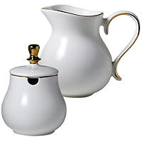 Eclectic Sugar Bowl & Creamer Set