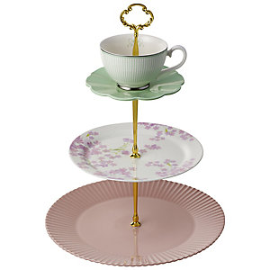 Eclectic 3 Tier Cake Stand
