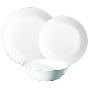 Corelle® 12-Piece White Dinner Set