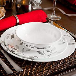 Corelle® 12-Piece Misty Leaves Dinner Set alt image 5