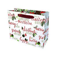Seasons Greetings Medium Gift Bag