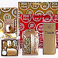Jazz Red & Gold Gift Wrap Pack