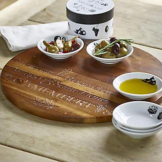 Savoir Faire Acacia Cheese Platter alt image 2
