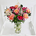 Summer Sunset Bouquet With Free Express Delivery