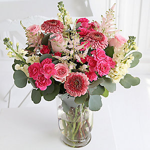 Holiday Romance Bouquet  With Free Express Delivery