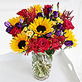 Garden Party Bouquet With Free Express Delivery