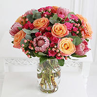 Tropical Summer Bouquet With Free Express Deleivery
