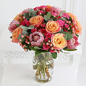 Tropical Summer Bouquet With Free Express Delivery