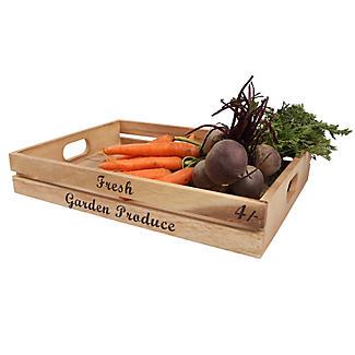 T&G Fresh Garden Produce Crate