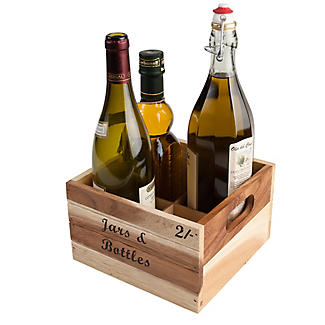 T&G Jar and Bottle Crate