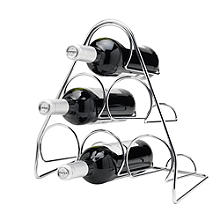 Hahn Pisa 6-Bottle Pyramid Wine Rack