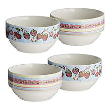 The Caravan Trail 4 Stacking Bowls