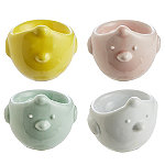 4 Coloured Egg Cups