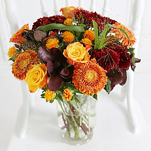 Latin Sunset Bouquet with Free Express Delivery