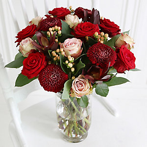Chocolate Box Bouquet with Free Express Delivery