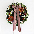 Deluxe Christmas Wreath with Free Express Delivery