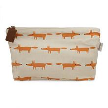 Scion Mr Fox Large Cosmetic Bag