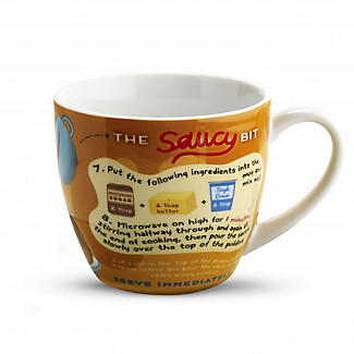 Sticky Toffee Pudding In A Mug With Saucer alt image 2