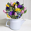 Spring Teapot Bouquet With Free Express Delivery