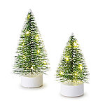 LED Christmas Tree Decoration Duo