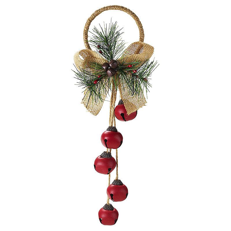 Christmas Decorations Bells Magnificent Jingle Bells Door Hanger Christmas Decoration  Lakeland Design Decoration