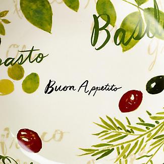Buon Appetito Pasta Bowls Set of 2 alt image 4