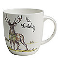 Churchill Country Pursuits His Lordship Stag Mug 300ml