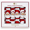 Santa Bingo Christmas Crackers Pack of 6