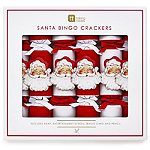 Santa Bingo Christmas Crackers Pack of 6