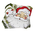 Santa Paper Napkins - Pack of 20