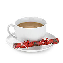 Santa Saucer Mini Christmas Crackers  - Pack of 8