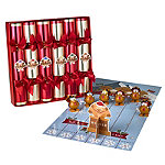 Racing Turkey Christmas Crackers - Pack of 6
