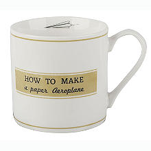 How To Make A Paper Aeroplane Mug 400ml