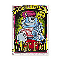 Fortune Telling Magic Fish Pack of 6